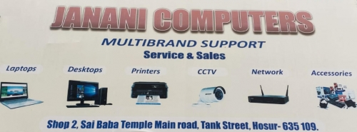 Best Computer Sales and Service in Hosur, Tamilnadu
