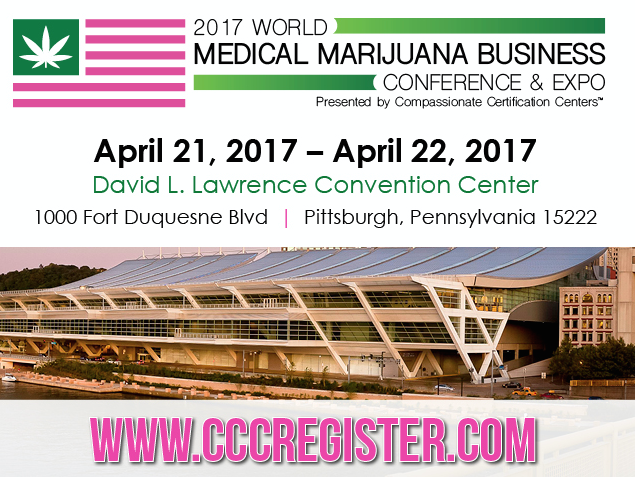 2017 World Medical Marijuana Business Conference & Expo, Pittsburgh, Pennsylvania, United States