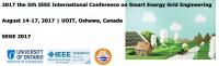 IEEE - 2017 the 5th IEEE International Conference on Smart Energy Grid Engineering (SEGE 2017)