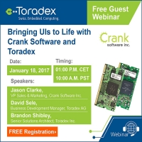 Guest Webinar: Bringing UIs to Life with Crank Software and Toradex