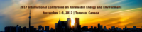 2017 International Conference on Renewable Energy and Environment (ICREE 2017)--IEEE