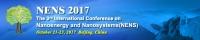 NENS 2017 - The 3rd International Conference on Nanoenergy and Nanosystems 2017