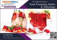 20th Global Summit on Food Processing, Safety & Technology