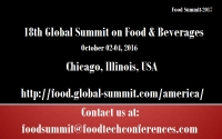 18th Global Summit on Food & Beverages
