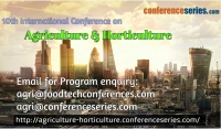 10th International Conference on Agriculture & Horticulture
