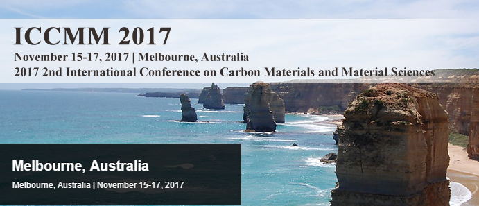 2017 2nd International Conference on Carbon Materials and Material Sciences (ICCMM 2017), Melbourne, Australia