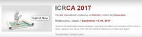 2nd International Conference on Robotics, Control and Automation (ICRCA 2017)