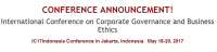 International Conference on Corporate Governance and Business Ethics