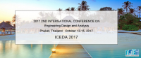 2017 2nd International Conference on Engineering Design and Analysis (ICEDA 2017)