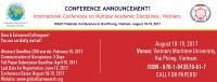 International Conference on Multiple Academic Disciplines - MAD17Vietnam