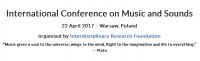 International Conference on Music and Sounds
