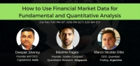 How to Use Financial Market Data for Fundamental and Quantitative Analysis