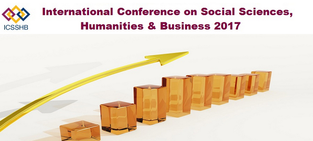 3rd International Conference on Social Sciences, Humanities & Business 2017 (ICSSHB 2017), Dubai, United Arab Emirates