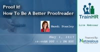 Proof It! How To Be A Better Proofreader