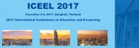 2017 International Conference on Education and E-Learning (ICEEL 2017)