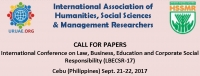 International Conference on Law, Business, Education and Corporate Social Responsibility (LBECSR-17)