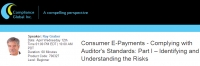 Consumer E-Payments - Complying with Auditor's Standards: Part I – Identifying and Understanding the Risks