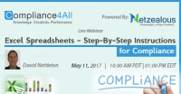 Excel Spreadsheets - Step-By-Step Instructions for Compliance