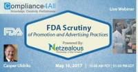 FDA Scrutiny of Promotion and Advertising