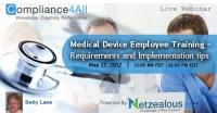 Medical Device Employee Training