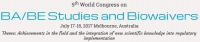 9th World Congress on BA/BE Studies and Biowaivers