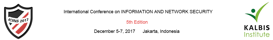 2017 5th International Conference on Information and Network Security (ICINS 2017), Jakarta, Indonesia
