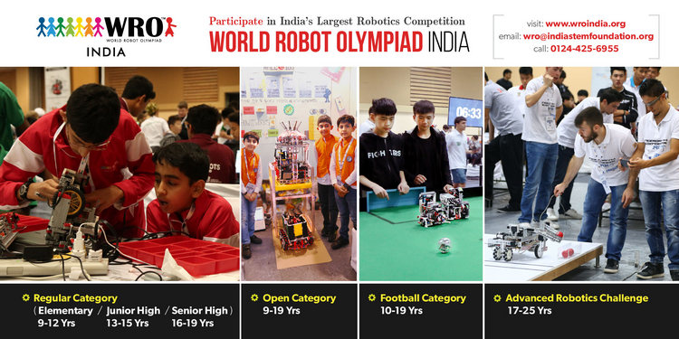 World Robot Olympiad India Technical Fests