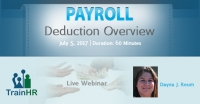 Payroll Deduction Overview