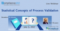 Statistical Concepts of Process Validation - 2017
