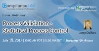 Process Validation - Statistical Process Control - 2017