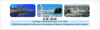 2018 9th International Conference on E-Education, E-Business, E-Management and E-Learning (IC4E 2018)