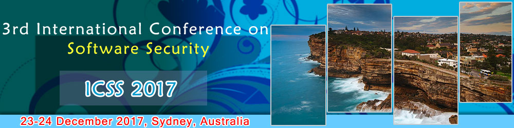 3rd International Conference on Software Security  ( ICSS 2017 ), Sydney, Australia