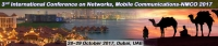 3rd International Conference on Networks, Mobile Communications (NMCO-2017)