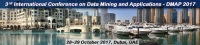 Third International Conference on Data Mining and Applications (DMAP 2017)