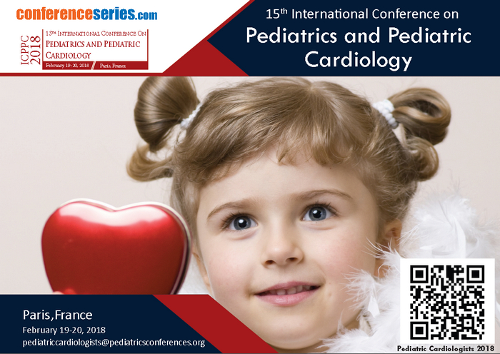 15th International Conference On Pediatrics and Pediatric Cardiology, Paris, France