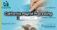 California Payroll Processing
