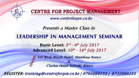 Leadership In Management Master Class