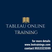 Tableau online training in hyderabad,uk,usa   Leotrainings
