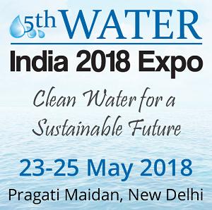 5th Water India 2018 Expo, Central Delhi, Delhi, India