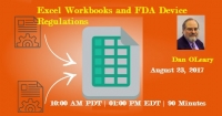Excel Methods - FDA Device Regulations - 2017