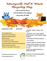 Murrysville E- Waste Recycling Day