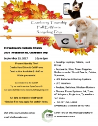 Cranberry Township E-Waste Recycling Day