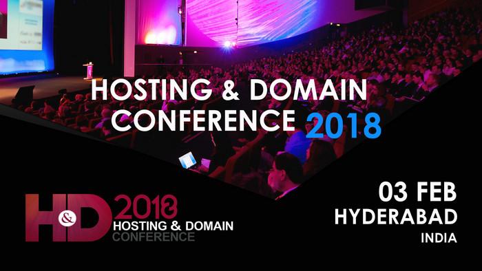 Hosting and Domain Conference 2018, Hyderabad, Telangana, India