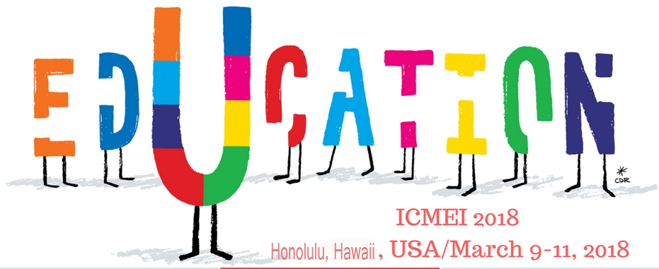 2018 6th International Conference on Management and Education Innovation (ICMEI 2018), Honolulu, Hawaii, United States