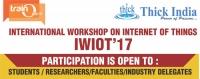 International Workshop on Internet of Things (IWIOT'17)