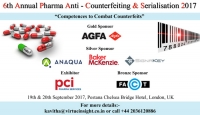 6th Annual Pharma AntiCounterfeiting & Serialisation 2017