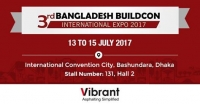 Find Vibrant Construction Equipment at Bangladesh Buildcon 2017