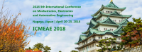 2018 5th International Conference on Mechatronics, Electronics and Automation Engineering (ICMEAE 2018)