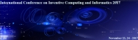 IEEE International Conference on Inventive Computing and Informatics 2017