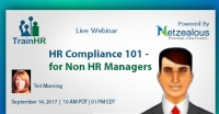 HR Compliance 101 - for Non HR Managers